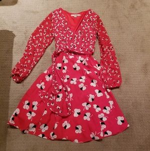 Boden wrap dress